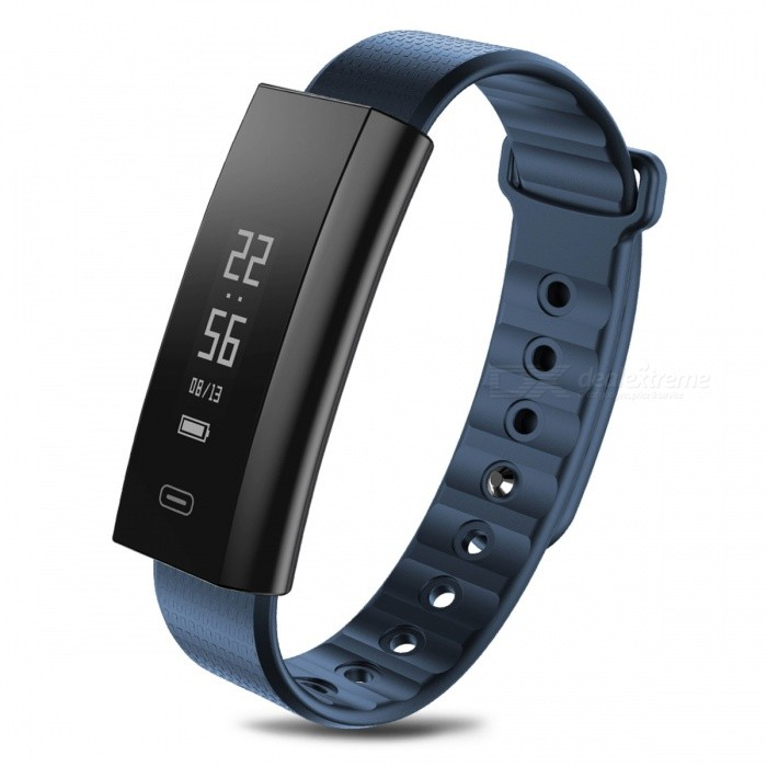 Zeblaze Arch Bluetooth V4.0 Smart Bracelet with Blood Oxygen Pressure, Heart Rate Monitor - BlueSmart Bracelets<br>Form  ColorBlueModelArchQuantity1 pieceMaterialOLEDShade Of ColorBlueWater-proofIP67Bluetooth VersionBluetooth V4.0Touch Screen TypeYesOperating SystemAndroid 4.0.3,iOSCompatible OSAndroid 4.3 / iOS 8.0 and above systemBattery Capacity80 mAhBattery TypeLi-polymer batteryStandby Time15 daysCertificationCE, RoHS &amp; FCCPacking List1 x Original Zebalze Arch Smart Bracelet1 x Box1 x Charger1 x User Manual (English)<br>