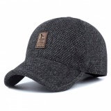 e8475b80c9d 37% OFF. Men s Spring Winter Warm Thickened Baseball Cap Cotton Hat with  Earflap - Dark Grey. US 5.67 US 8.99. Free shipping