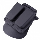 ACCU 4500 Paddle Double Magazine Holster for 1911 Model Type