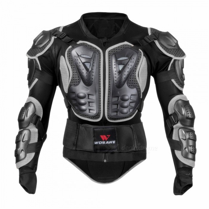 BC202 Motorcycle Auto Car Racing Protective Armor Jacket - Black (XXXL)