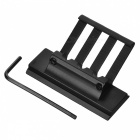 Y0074 Aluminum Alloy Gun Mount Support Bracket for M16 / M4A1 - Black (22MM)