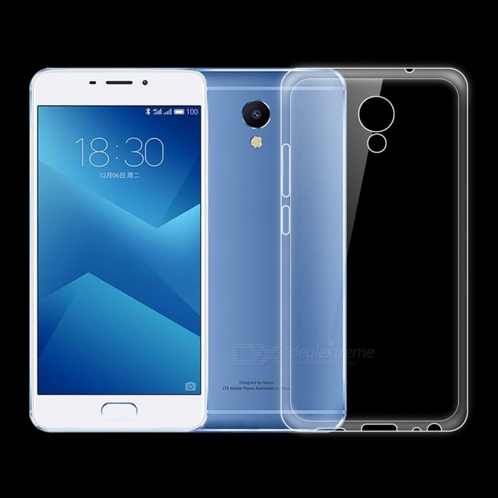 Dayspirit Ultra-Thin Protective TPU Back Case for Meizu M5 Note - TransparentTPU Cases<br>Form  ColorTransparentModelN/AMaterialTPUQuantity1 pieceShade Of ColorTransparentCompatible ModelsMeizu M5 NotePacking List1 x Case<br>
