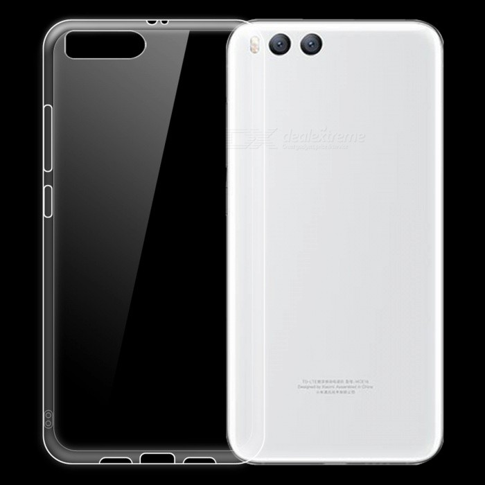 Dayspirit Ultra-Thin Protective TPU Back Case for Xiaomi Mi 6 - Transparent
