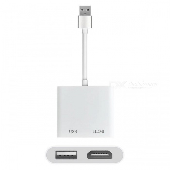 Cwxuan USB female do HDMI 1080P video adaptér pro IPHONE iOS Android typ-C Smart telefony