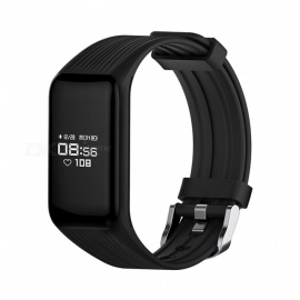 MGCOOL Band 3 Bluetooth Smart Bracelet Wristband Watch Heart Rate Monitor for Android IOS - Red