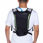 CTSmar Multi-Purpose 5L Water Bag Outdoor Riding Mountaineering Waterproof Backpack - Black + Green