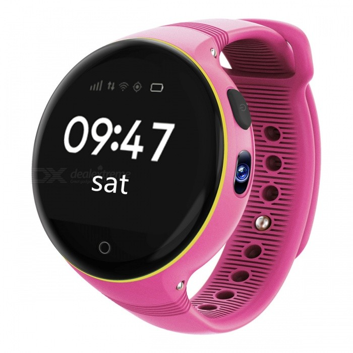 ZGPAX S668 Kids Wi-Fi GPS Smart Watch Phone SOS Tracker - PinkChildren Watches<br>Form  ColorPinkModelS668Quantity1 DX.PCM.Model.AttributeModel.UnitShade Of ColorPinkCasing MaterialSilica gelWristband MaterialModern buckle strapSuitable forChildrenGenderUnisexStyleWrist WatchTypeFashion watchesDisplayDigitalMovementOthers,MTK2503Display Format24 hour time formatWater ResistantNODial Diameter4 DX.PCM.Model.AttributeModel.UnitDial Thickness1.5 DX.PCM.Model.AttributeModel.UnitBand Width1.5 DX.PCM.Model.AttributeModel.UnitWristband Length20 DX.PCM.Model.AttributeModel.UnitBattery380MA/ 3.8VPacking List1 x Watch1 x USB cable (70cm)1 x English Manual<br>