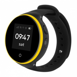 ZGPAX S669 Kid's GPS Smart Watch Phone SOS Tracker - Black