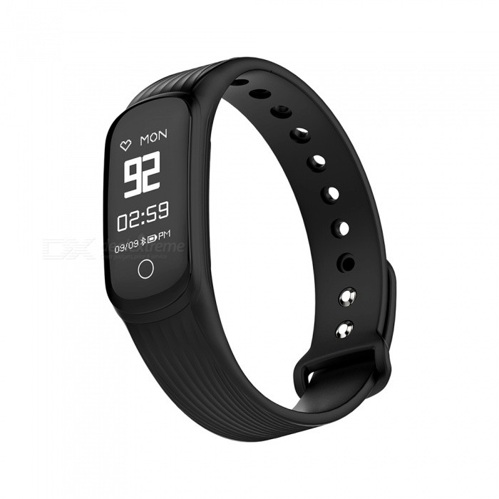 MGCOOL Band 4 Bluetooth Smart Bracelet Wristband Watch Heart Rate Monitor for Android IOS - BlackSmart Bracelets<br>Form  ColorBlackModelBand 4Quantity1 DX.PCM.Model.AttributeModel.UnitMaterialSilica gelShade Of ColorBlackWater-proofYesBluetooth VersionBluetooth V4.0Touch Screen TypeYesOperating SystemOthers,Android 4.4 or above,iOS 8.0 or aboveCompatible OSAndroid 4.4 or above,iOS 8.0 or aboveBattery Capacity90 DX.PCM.Model.AttributeModel.UnitBattery TypeLi-ion batteryStandby Time480 DX.PCM.Model.AttributeModel.UnitOther FeaturesDynamic heart rate monitor, smart pedometer, calories record, sleep monitor, sync date and time, notifications, find Phone, sedentary alert etc.Packing List1 x Smart Bracelet1 x User manual<br>