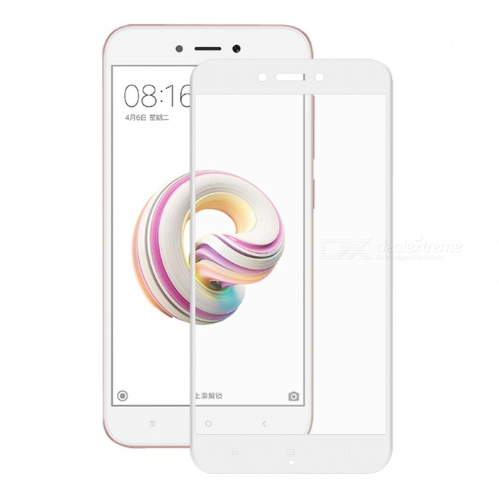 Hat-Prince 0.2mm 9H 3D Tempered Glass Full Cover Protector for Redmi 5A - WhiteScreen Protectors<br>Form  ColorWhiteScreen TypeGlossyModel-MaterialCarbon Fiber + Tempered glassQuantity1 pieceCompatible ModelsRedmi 5AFeatures3D,HD,Scratch-proof,Tempered glassPacking List1 x Screen Protector1 x Dust Sticker1 x Cleaning Cloth1 x Alcohol Prep Pad<br>