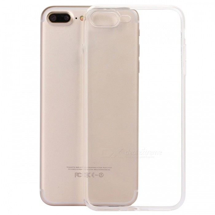 ASLING TPU Ultra-thin Soft TPU Back Case for IPHONE 7 PLUS / IPHONE 8 PLUSTPU Cases<br>Form  ColorTransparentModelASL-TPU-iPhone 7 Plus / iPhone 8 PlusQuantity1 DX.PCM.Model.AttributeModel.UnitMaterialTPUCompatible ModelsiPhone 7 PLUS,IPHONE 8 PLUSDesignTransparentStyleBack CasesPacking List1 x Protective Case<br>