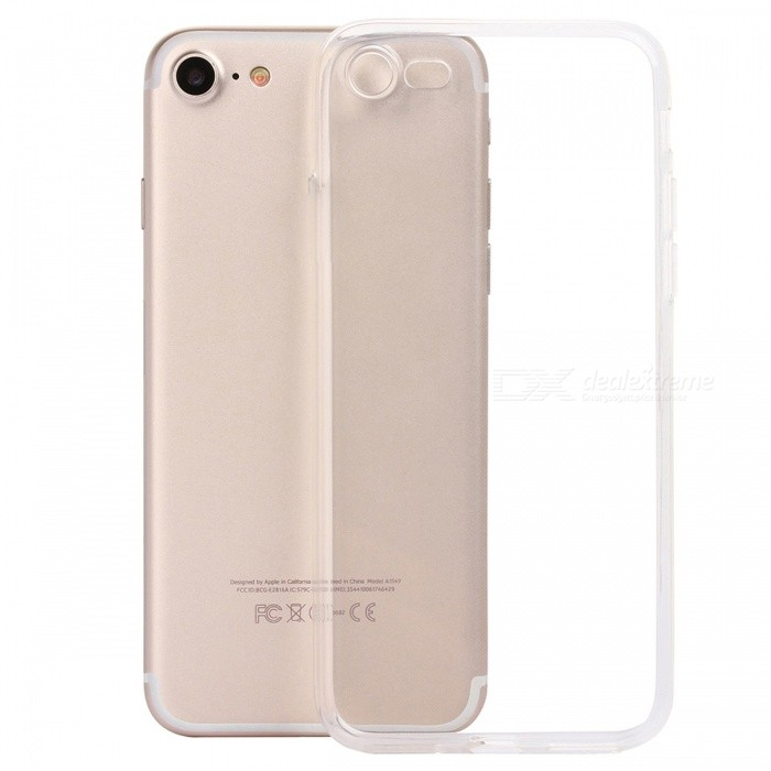 ASLING TPU Ultra-thin Soft TPU Back Case for IPHONE 7 / IPHONE 8TPU Cases<br>Form  ColorTransparentModelASL-TPU-iPhone 7 / iPhone 8Quantity1 DX.PCM.Model.AttributeModel.UnitMaterialTPUCompatible ModelsiPhone 7,IPHONE 8DesignTransparentStyleBack CasesPacking List1 x Protective Case<br>