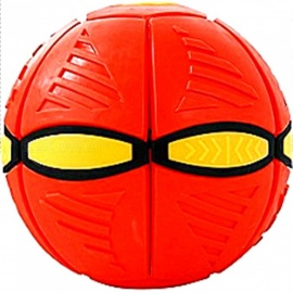 Deformation Flying Saucer Stress Relief Ball Toy for Kids, Adults