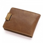 GUBINTU Men's Fashionable Cards Holder Cash Clip Wallet - Coffee