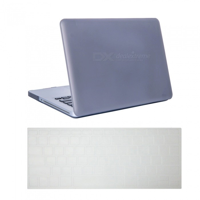 Dayspirit Ultra Slim Matte Hard Case + Keyboard Cover for MacBook Pro 15.4 inch with CD-ROM (A1286) - GrayNetbook&amp;Laptop Cases<br>Form  ColorGreyModelN/AQuantity1 DX.PCM.Model.AttributeModel.UnitShade Of ColorGrayMaterialPCCompatible ModelMacBook Pro 15.4 inch with CD-ROMCompatible BrandAPPLETypeFull Body CasesStyleBusiness,Casual,Fashion,ContemporaryCompatible SizeOthers,15.4 inchPacking List1 x Hard shell (top + bottom)1 x Keyboard cover<br>