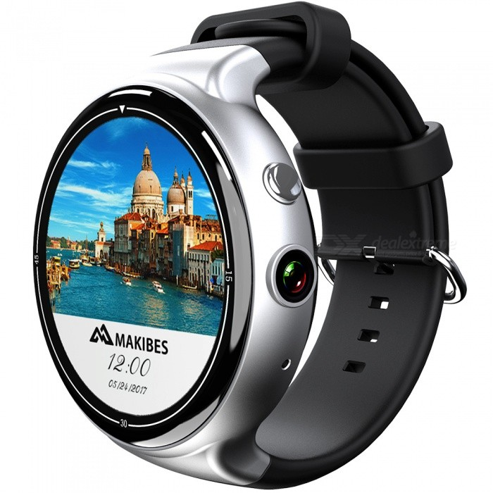 JSBP I4 Air Android 5.1 3G Smart Watch Phone w/ 2.MP Camera, MTK6580 Quad-core CPU, GPS, Wi-Fi, 2GB RAM, 16GB ROM - SilverSmart Watches<br>Form  ColorSilverModelI4 AirQuantity1 DX.PCM.Model.AttributeModel.UnitMaterialAluminum alloy + TPUShade Of ColorSilverCPU ProcessorMTK6580 Quad-core,1.3GHzScreen Size1.39 DX.PCM.Model.AttributeModel.UnitScreen Resolution400*400Touch Screen TypeCapacitive ScreenNetwork Type2G,3GCellularWCDMA,GSMSIM Card TypeMicro SIMBluetooth VersionBluetooth V4.0Operating SystemAndroid 5.1Compatible OSAndroid*IOSLanguageIndonesia, German, English, Spanish, French, Italian, polish, Portuguese (Brazil), Portugal, Vietnam, Turkey, Russian, Hebrew, Arabic, Persia, India, Bangladesh, Thai, Myanmar (Burma), Korean, JapanWristband Length28 DX.PCM.Model.AttributeModel.UnitWater-proofIP65Battery ModeNon-removableBattery TypeLi-polymer batteryBattery Capacity400 DX.PCM.Model.AttributeModel.UnitStandby Time48 DX.PCM.Model.AttributeModel.UnitOther FeaturesHeart Rate:Real-Time Heart Rate Detector; Acceleration sensor &amp; gyroscope;Packing List1 x Smart Watch1 x USB Charging Cable1 x Screwdriver1 x User Manual<br>