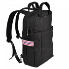 "OSOCE S24 Large Capacity 15.6"" Nylon Water-Resistant Business Travel Laptop Backpack - Black"