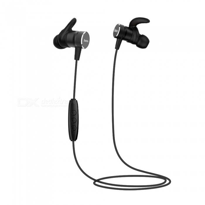 ZHAOYAO Sports Bluetooth V4.2 Stereo Earphones Headset for Running, Jogging - BlackHeadphones<br>Form  ColorBlackBrandOthers,[ZHAOYAO]MaterialABS + aluminum alloyQuantity1 DX.PCM.Model.AttributeModel.UnitConnectionBluetoothBluetooth VersionBluetooth V4.2Operating Range10mCable Length55 DX.PCM.Model.AttributeModel.UnitHeadphone StyleBilateral,In-EarWaterproof LevelIPX4Applicable ProductsIPHONE 7,IPHONE 7 PLUSHeadphone FeaturesMagnetic Adsorption,Noise-Canceling,Lightweight,For Sports &amp; ExerciseSupport Memory CardNoSupport Apt-XYesBuilt-in Battery Capacity 60 DX.PCM.Model.AttributeModel.UnitStandby Time180 DX.PCM.Model.AttributeModel.UnitTalk Time4.5 DX.PCM.Model.AttributeModel.UnitMusic Play Time4 DX.PCM.Model.AttributeModel.UnitPacking List1 x Earphones1 x Data Cable1 x Manual<br>