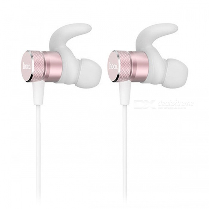 ZHAOYAO Sports Bluetooth V4.2 Stereo Earphones Headset for Running, Jogging - Rose GoldHeadphones<br>Form  ColorRose GoldBrandOthers,[ZHAOYAO]MaterialABS + aluminum alloyQuantity1 DX.PCM.Model.AttributeModel.UnitConnectionBluetoothBluetooth VersionBluetooth V4.2Operating Range10mCable Length55 DX.PCM.Model.AttributeModel.UnitHeadphone StyleBilateral,In-EarWaterproof LevelIPX4Applicable ProductsIPHONE 7,IPHONE 7 PLUSHeadphone FeaturesMagnetic Adsorption,Noise-Canceling,Lightweight,For Sports &amp; ExerciseSupport Memory CardNoSupport Apt-XYesBuilt-in Battery Capacity 60 DX.PCM.Model.AttributeModel.UnitStandby Time180 DX.PCM.Model.AttributeModel.UnitTalk Time4.5 DX.PCM.Model.AttributeModel.UnitMusic Play Time4 DX.PCM.Model.AttributeModel.UnitPacking List1 x Earphones1 x Data Cable1 x Manual<br>
