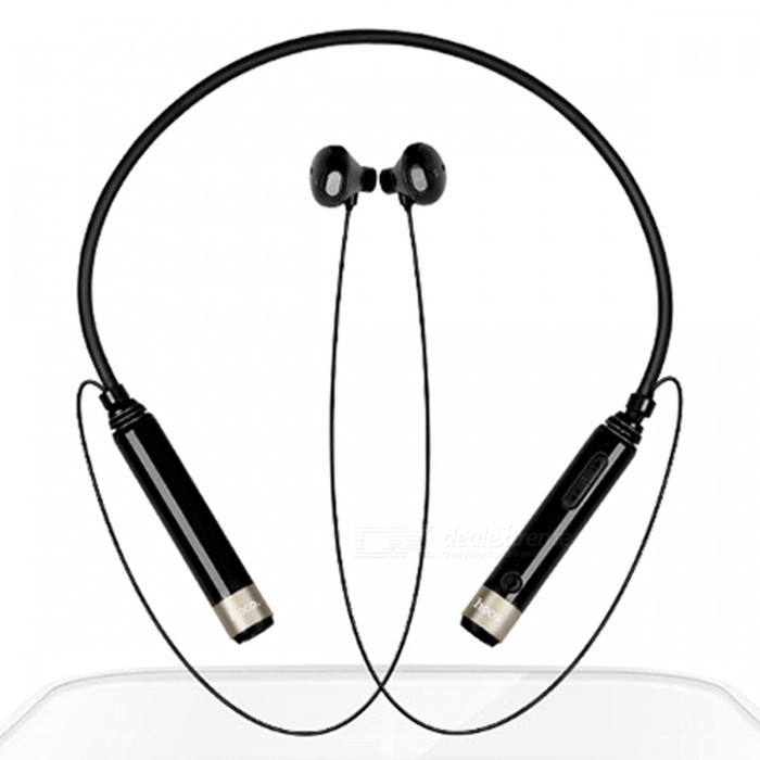 ZHAOYAO Bluetooth V4.0 Wireless Neckband Headset Sports Stereo Headphones - BlackHeadphones<br>Form  ColorBlackBrandOthers,[ZHAOYAO]MaterialTPE, ABS silicone, metalQuantity1 DX.PCM.Model.AttributeModel.UnitConnectionBluetoothBluetooth VersionBluetooth V4.0,Bluetooth V4.2Operating Range10Cable Length17 DX.PCM.Model.AttributeModel.UnitHeadphone StyleBilateralWaterproof LevelIPX4Applicable ProductsIPHONE 7,IPHONE 7 PLUSHeadphone FeaturesInvisible Style,For Sports &amp; ExerciseSupport Memory CardNoSupport Apt-XYesFrequency Response20~20000HzImpedance32±15% DX.PCM.Model.AttributeModel.UnitBuilt-in Battery Capacity 150 DX.PCM.Model.AttributeModel.UnitStandby Time240 DX.PCM.Model.AttributeModel.UnitTalk Time8 DX.PCM.Model.AttributeModel.UnitMusic Play Time8 DX.PCM.Model.AttributeModel.UnitPower SupplyDC 5VPacking List1 x Headphones1 x Data Cable1 x Manual<br>