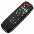 Portable 2.4G Wireless Air Mouse Keyboard Remote Control - Black
