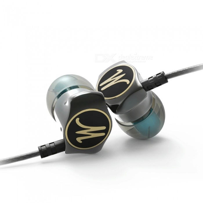 Eastor DM7 Special Edition Gold Plated Housing HiFi Wired In-Ear Earphone Headset with Mic - GrayHeadphones<br>Form  ColorGreyBrandOthers,EastorModelDM7MaterialMetalQuantity1 DX.PCM.Model.AttributeModel.UnitConnection3.5mm WiredBluetooth VersionNoCable Length125 DX.PCM.Model.AttributeModel.UnitHeadphone StyleBilateral,Earbud,In-EarWaterproof LevelOthers,SweatproofApplicable ProductsUniversalHeadphone FeaturesPhone Control,Long Time Standby,Noise-Canceling,With Microphone,Lightweight,Portable,For Sports &amp; ExerciseSupport Memory CardNoSupport Apt-XNoSensitivity120dBFrequency Response8-22000HzImpedance32 DX.PCM.Model.AttributeModel.UnitPacking List1 x Earphone6 x Eartips<br>