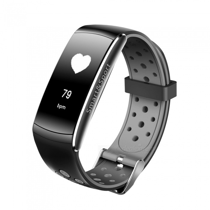 Z11 Sports Bluetooth Smart Bracelet Waterproof Wristband with Call Reminds, Heart Rate Monitor - Grey + BlackSmart Bracelets<br>Form  ColorGrey + BlackQuantity1 DX.PCM.Model.AttributeModel.UnitMaterialABSShade Of ColorGrayWater-proofIP68Bluetooth VersionBluetooth V4.0Touch Screen TypeYesCompatible OSSupport Android 4.4, IOS 8.0 and above systemsBattery Capacity90 DX.PCM.Model.AttributeModel.UnitBattery TypeLi-polymer batteryStandby Time5-7 DX.PCM.Model.AttributeModel.UnitPacking List1 x Smart Watch1 x Charging Cable 1 x User Manual<br>