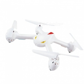 MJXR/C X708 Cyclone 2.4G 6Axis Gyro RC Quadcopter with 3D Flips, Headless Mode RTF - White
