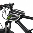 NUCKILY PL05 Waterproof Touch Screen Bicycle Saddle Bag for Upper Pipe - Green (L)