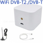 Android Smart Phone Wi-Fi DVB-T2 Pad TV Tuner Stick Terrestrial Receiver - White