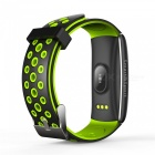 MaiKou Z11 Sports Waterproof Smart Bracelet with Heart Rate and Blood Pressure Detection - Green