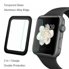 Hat-Prince Full Coverage Tempered Glass Protector for Apple Watch Series 1 / 2 38mm - Black