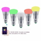 P-TOP E27 7W Dimmer Smart Wi-Fi RGB + White LED Light Bulb with APP Control (AC 85-265V)