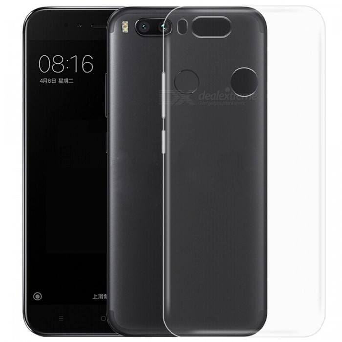 ASLING TPU Ultra-thin Soft TPU Back Case Cover for Xiaomi A1TPU Cases<br>Form  ColorTransparentModelASL-Xiaomi A1MaterialTPUQuantity1 pieceShade Of ColorTransparentCompatible ModelsXiaomi A1Packing List1 x Protective Case<br>