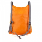 Sunfield 16L Polyester PU Coating Triangle Reinforced Waterproof Ultra-Light Foldable Backpack - Orange