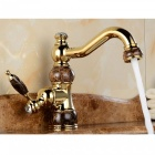 ZHAOYAO European Retro Style Hot and Cold Water Mix Faucet for Home Kitchen