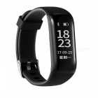 N8 Sports Smart Bracelet with Heart Rate, Blood Pressure, Sleep Monitoring, Pedometer, Information Reminder - Black