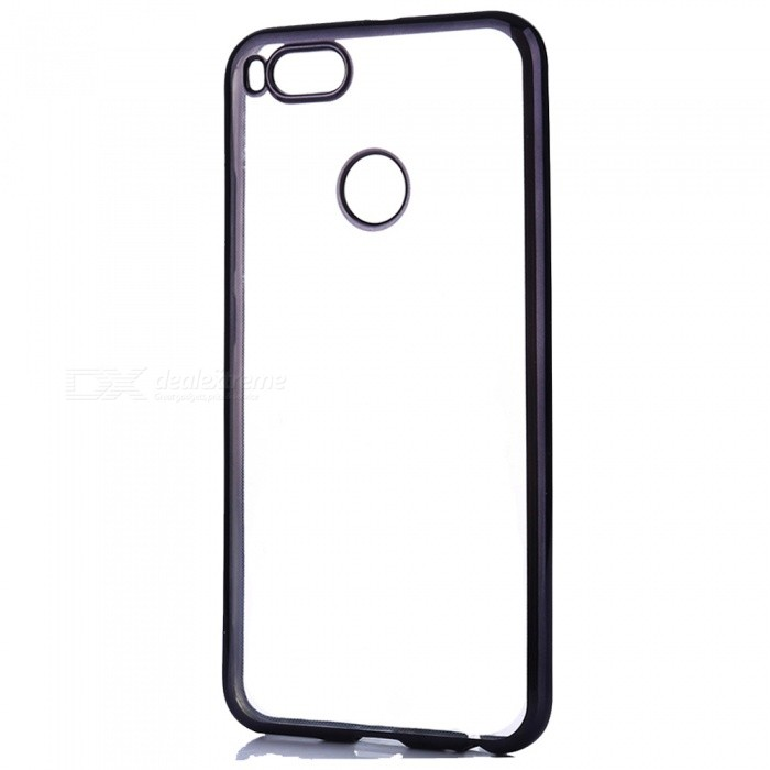 ASLING Electroplating TPU Protective Case for Xiaomi A1TPU Cases<br>Form  ColorBlackModelASL- Xiaomi A1MaterialTPUQuantity1 pieceShade Of ColorBlackCompatible ModelsXiaomi A1Packing List1 x Protective Case<br>