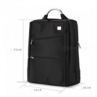 565 Simple Fashion 15 Inches Digital Computer Backpack, Business Handbag - Black