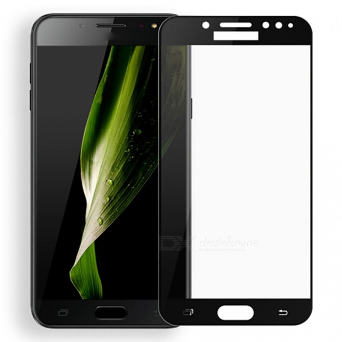 Naxtop Tempered Glass Full Screen Protector for Samsung Galaxy C8 - BlackScreen Protectors<br>Form  ColorBlackScreen TypeGlossyModelN/AMaterialTempered GlassQuantity1 pieceCompatible ModelsSamsung Galaxy C8Features2.5D,Fingerprint-proof,Scratch-proof,Tempered glassPacking List1 x Tempered glass film1 x Wet wipe1 x Dry wipe1 x Dust absorber<br>