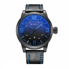 CURREN 8241 Men's Fashion Quartz Watch with Date Display - Blue