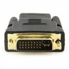 Dayspirit DVI 24+5 Male to HDMI Female Adapter Connector - Black
