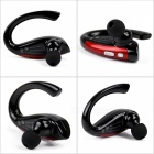 X6 Unilateral Sports Bluetooth Stereo Headset Headphone Earphone - Red