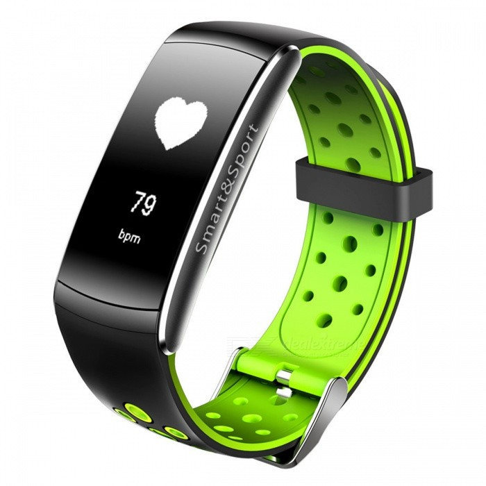Z11 Waterproof Smart Bluetooth Sports Wristband Bracelet with Caller ID Alert, Heart Rate Monitor - GreenSmart Bracelets<br>Form  ColorGreenModelZ11Quantity1 DX.PCM.Model.AttributeModel.UnitMaterialTPUShade Of ColorGreenWater-proofIP68Bluetooth VersionBluetooth V4.0Touch Screen TypeAMOLEDOperating SystemAndroid 4.4,iOSCompatible OSAndroid  iOSBattery Capacity90 DX.PCM.Model.AttributeModel.UnitBattery TypeLi-polymer batteryStandby Time10 DX.PCM.Model.AttributeModel.UnitPacking List1 x Cable1 x Instruction1 x Smart Bracelet<br>