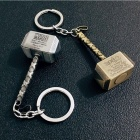 Unique Avengers Thor Hammer Shape Car Keychain, Phone Strap
