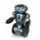 Multi-function 2.4Ghz Self-Balance Smart Remote Control Stunt Robot Toy for Kids - Dark Blue