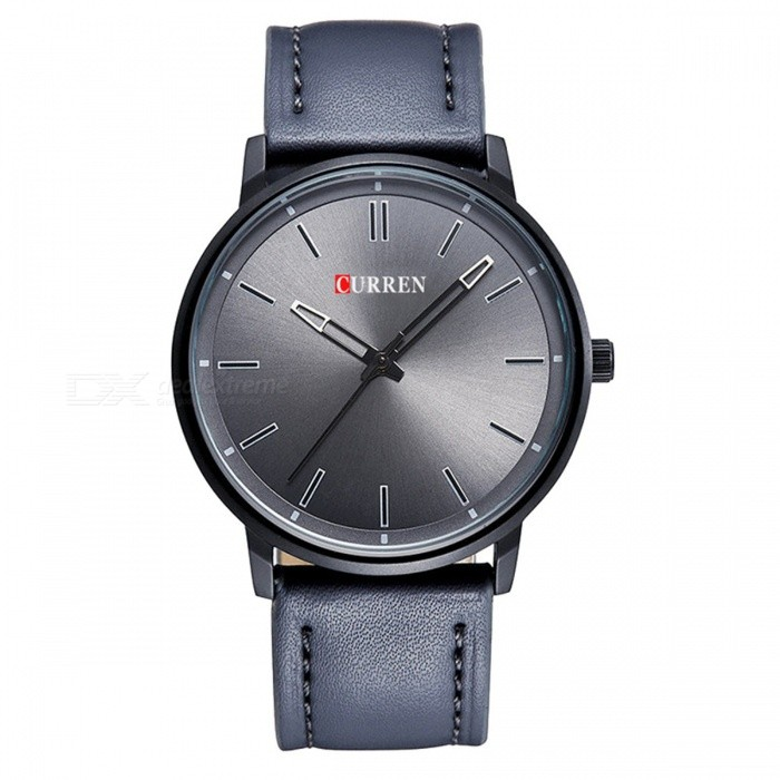 CURREN 8233 Mens Simple Cool Round Quartz Watch - GreyQuartz Watches<br>Form  ColorGreyModel8233Quantity1 pieceShade Of ColorGrayCasing MaterialAlloyWristband Material-Suitable forAdultsGenderUnisexStyleWrist WatchTypeFashion watchesDisplayAnalogBacklightnoMovementQuartzDisplay Format12 hour formatWater ResistantFor daily wear. Suitable for everyday use. Wearable while water is being splashed but not under any pressure.Dial Diameter4.4 cmDial Thickness0.5 cmWristband Length25 cmBand Width2 cmBattery626Packing List1 x Watch<br>