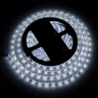 ZHAOYAO IP65 Waterproof 140W DC 12V 10m 3528SMD-1200LEDs Cold White LED Strip Light with 10A EU Plug Charger + DC Connector