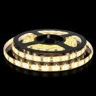 ZHAOYAO IP65 Waterproof 144W DC 12V 10m 5630SMD-600LEDs Warm White LED Strip Light with 10A EU Plug Charger + DC Connector