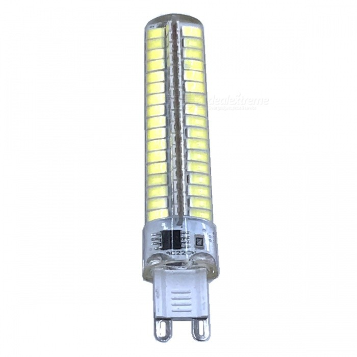 ZHAOYAO G9 7W AC 220-240V 5730 SMD 136-LED Dimmable Light Bulb - Cold WhiteOther Connector Bulbs<br>Color BING9-Cold White ModelG9-WMaterialPCBForm  ColorWhiteQuantity1 DX.PCM.Model.AttributeModel.UnitPower7WRated VoltageAC 220-240 DX.PCM.Model.AttributeModel.UnitConnector TypeG9Chip BrandOthers,LEDChip Type5730Emitter TypeOthers,5730SMD LEDTotal Emitters136Actual Lumens0-700 DX.PCM.Model.AttributeModel.UnitColor Temperature6000KDimmableYesBeam Angle360 DX.PCM.Model.AttributeModel.UnitOther Features5500-7000KPacking List1 x LED Bulb<br>
